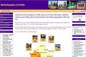 Wolverhampton in Profile Website (small)
