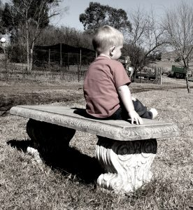 Child on Bench (Youth) - Image Credit Free Range Stock - Angela Smith