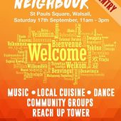 Walsall – 'Love Your Neighbour' Event