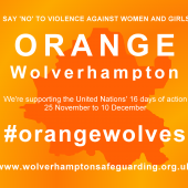 'Orange' Wolverhampton – Friday 25th November
