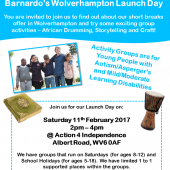 Barnardo's Wolverhampton Launch Day