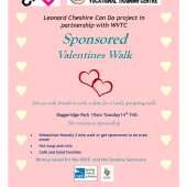 'Can Do' Valentine's Walk