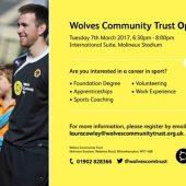 Wolves Community Trust Open Evening
