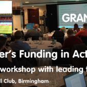 Funding in Action Workshop – 7th March, Birmingham