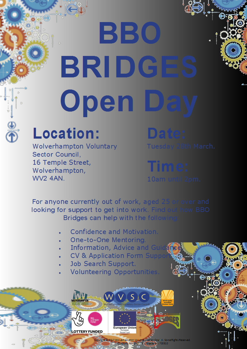 BBO Bridges – Open Day – 28th March