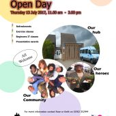 Heath Town Senior Citizens Welfare Project – Open Day 13th July