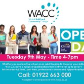 Walsall Adult & Community College – Open Day!