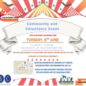 Community & Volunteers Event – Tuesday 6th June