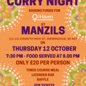 The Haven – Charity Curry Night (Birmingham)