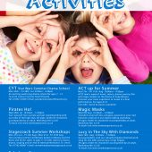 Newhampton Arts Centre – Kids Holiday Activities