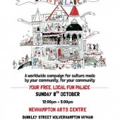 Newhampton Arts Centre 'Fun Palace' – 8th October