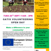 Gatis Volunteer Open Day