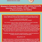 Women's Comedy Course With Janice Connolly