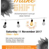 Make:Shift Event – Saturday 11th November