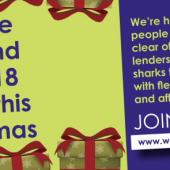 Community Bank Pledges To Help Cut Problem Debt This Christmas