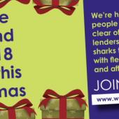 Community Bank Pledges To Help Cut Problem Debt This Christmas