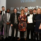 Talent Match – Recognition at the Black Country Sport & Physical Activity Awards 2017
