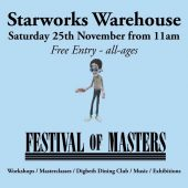 'Festival of Masters' comes to Wolverhampton – 25th November
