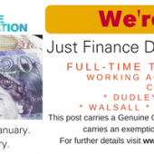 Vacancy: 'Just Finance' Development Worker