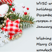 WVSC Christmas Opening Hours