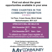 'Charities In The Community' Exhibition