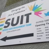 SUIT – 'How sport is helping addicts build a better life.'
