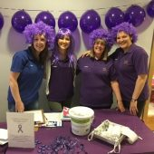 'Go Purple' To Support The Haven