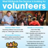 West Midlands Fire Service Is Looking For Volunteers