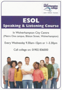 ESOL Speaking & Listening Course
