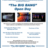 The Big Bang – Open Day