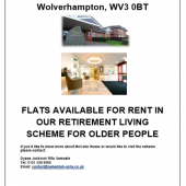 Flats Available at McCalla House Retirement Living Scheme
