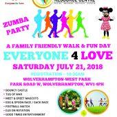 Everyone 4 Love Walk & Family Fun Day
