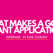 Heart of England Webinar – 'What Makes A Good Grant?'