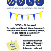 Save The Date – Join Us For Our 30th Anniversary VCS Conference On 8th November